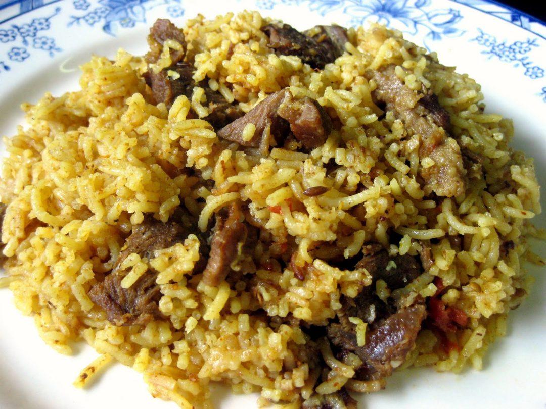 Resep Nasi Daging Rempah