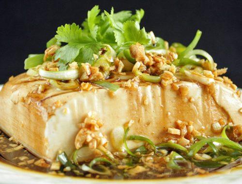 Resep Steam Tofu Udang